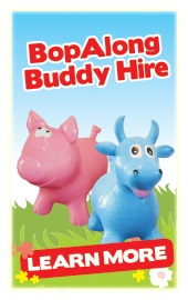 Jumping Castle Brisbane Bob Along Buddy Hire