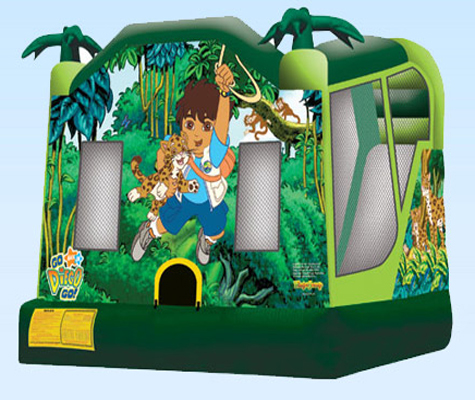 Jumping Castles-Diego 4 in 1