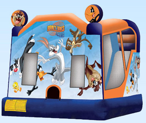 Jumping Castles-Looney Tunes 4 in 1