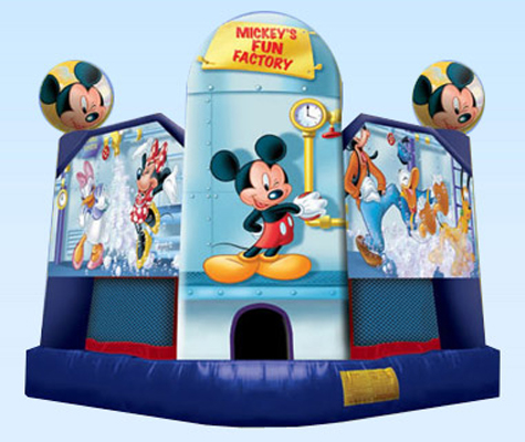 Jumping Castles-Mickey Mouse