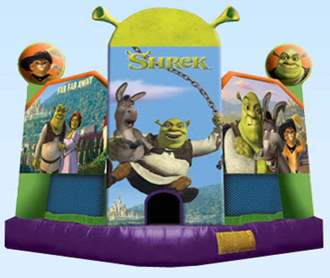 Jumping Castles-Shrek 5 in 1